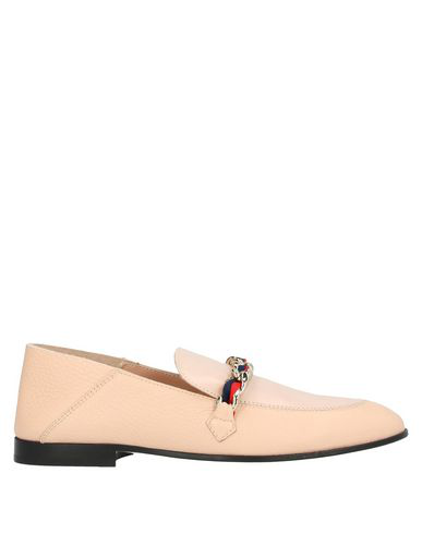 Pollini Loafers In Light Pink