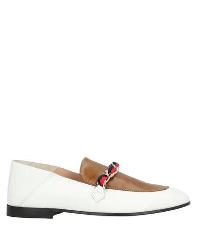 Pollini Loafers In White