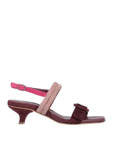 Pomme D'or Sandals In Deep Purple