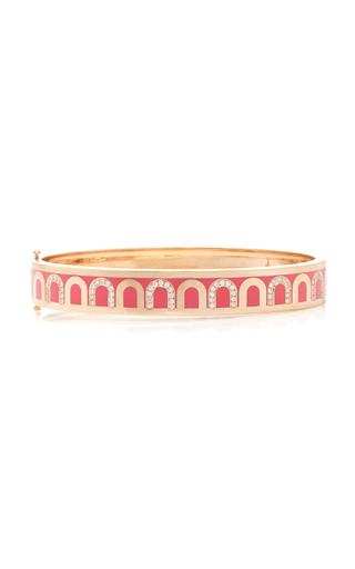 Davidor L'arc 18k Rose Gold And Diamond Bracelet In Pink