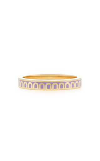 Davidor L'arc 18k Gold Ring In Purple