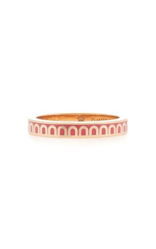 Davidor L'arc 18k Rose Gold Ring In Pink