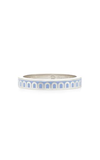 Davidor L'arc 18k White Gold Ring In Blue