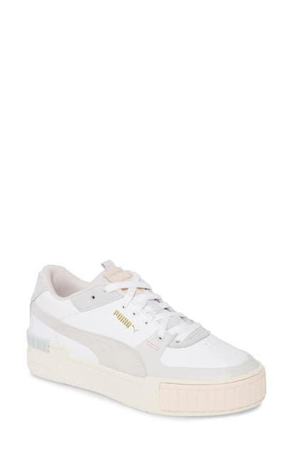 Women's Cali Sport Mix Low top Sneakers In Puma Black Marshmallow