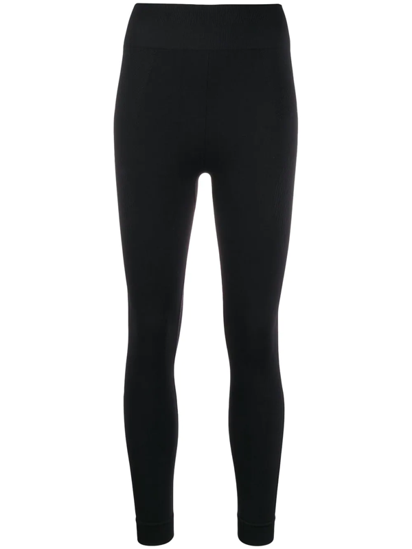 Karl Lagerfeld Rue S Guillaume Jersey Leggings In Black