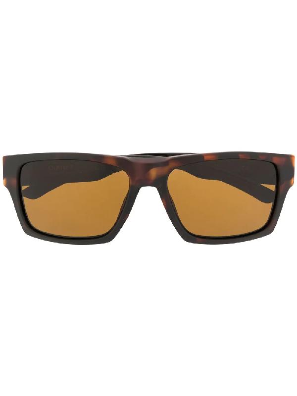 Smith Lowdown 2 Square Frame Sunglasses In Brown