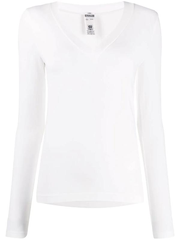 Wolford Aurora White Stretch-jersey Top
