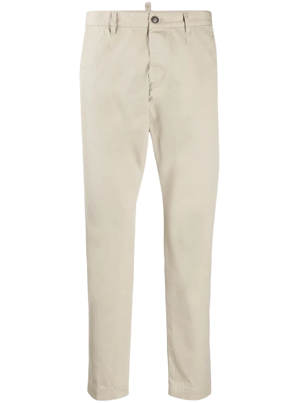 Dsquared2 Cool Guy Slim-fit Chinos In Neutrals