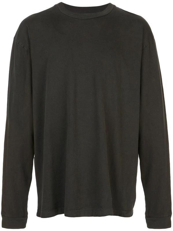 John Elliott Men's University Long Sleeve T-shirt In Black