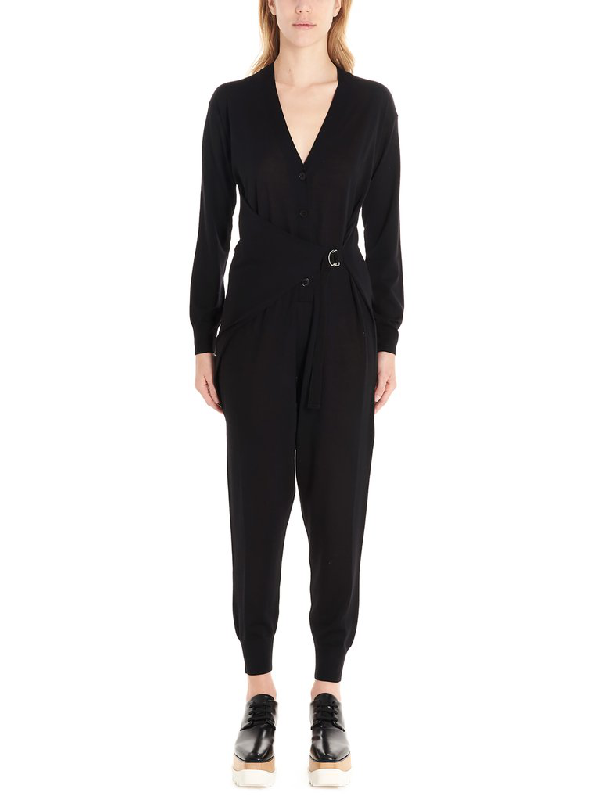 Stella Mccartney Stella Classic Jumpsuits In Black