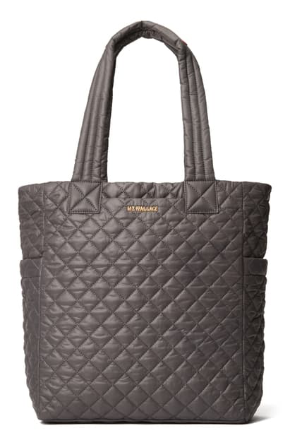 Mz Wallace Max Nylon Tote In Magnet
