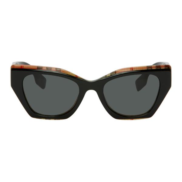 Burberry Women's Cat Eye Sunglasses, 52mm In 382887black
