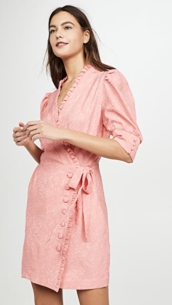 Hofmann Copenhagen Camille Dress In Vivid Pink