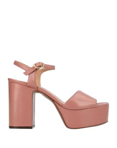 L'autre Chose Sandal Ldg003 In Pink