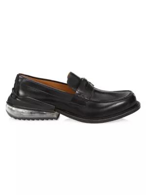 Maison Margiela 黑色 Airbag 乐福鞋 In Black