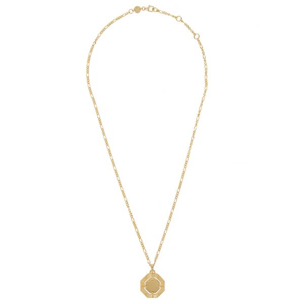 Daisy London X Estée Lalonde 18kt Gold-plated Necklace