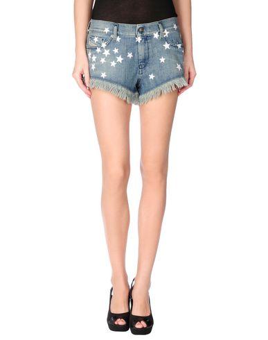 Diesel Denim Shorts In Blue