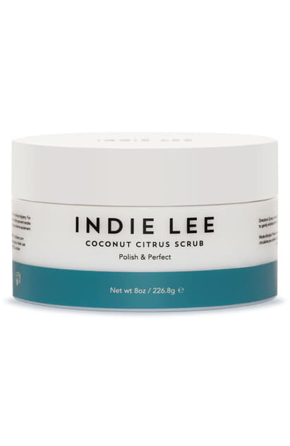 Indie Lee Coconut Citrus Body Scrub, 8 oz