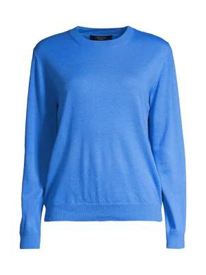 Weekend Max Mara Bobbio Wool & Cashmere Sweater In Cornflower