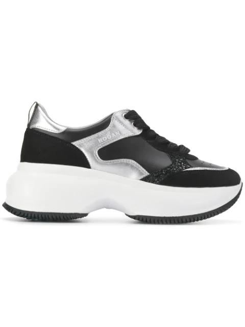 Hogan Maxi I Active Sneakers In Black