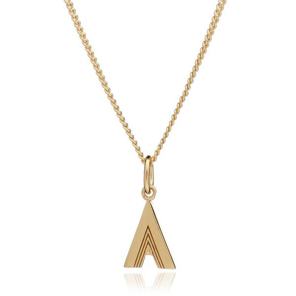 Rachel Jackson This Is Me Necklace - Gold - A
