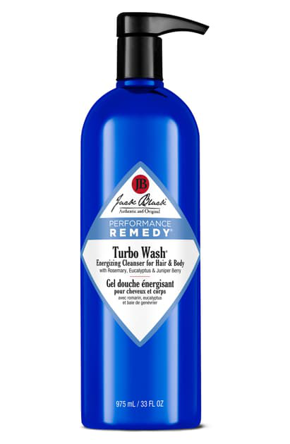 Jack Black Turbo Wash Energizing Cleanser For Hair & Body, 10 oz