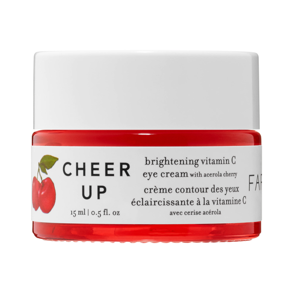 Farmacy Cheer Up Brightening Vitamin C Eye Cream With Acerola Cherry 0.5 oz/ 15 ml