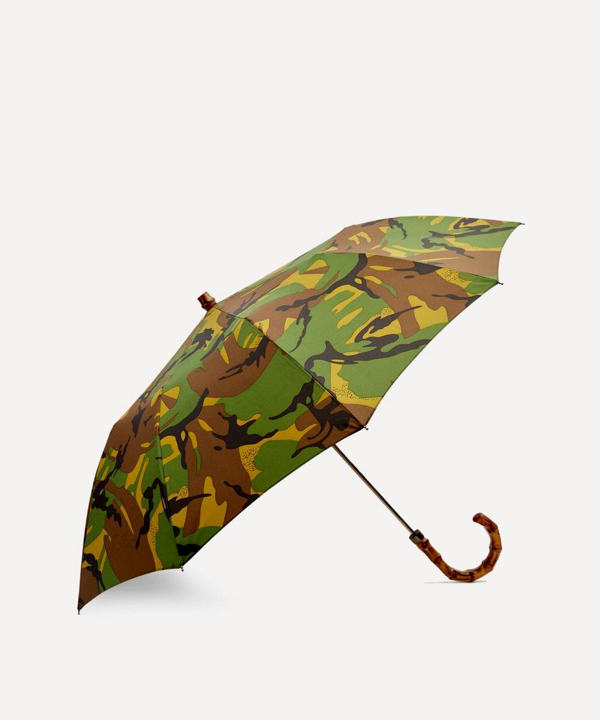London Undercover British Woodland Camouflage Telescopic Umbrella