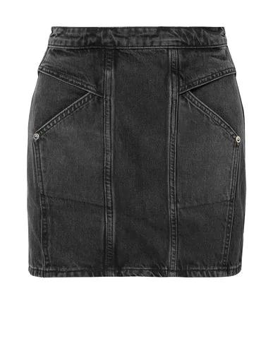 Adaptation Denim Skirts In Black