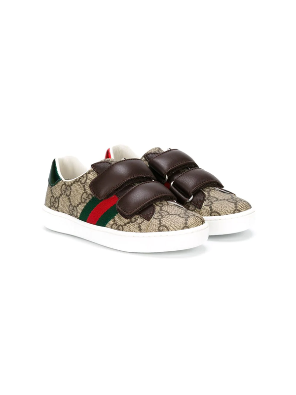 Gucci Kids Sneakers For For Boys And For Girls In Neutrals