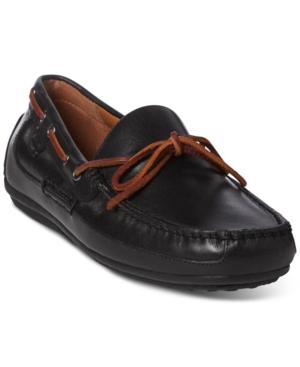 Polo Ralph Lauren Men's Roberts Drivers Men's Shoes In Black