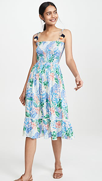 Playa Lucila Printed Dress In Multi