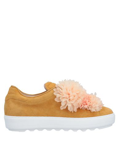 Pokemaoke Sneakers In Ocher