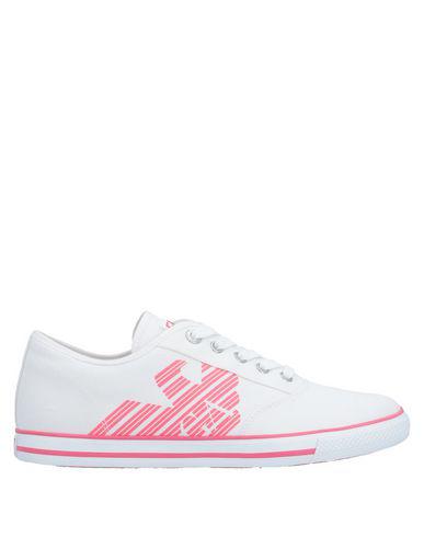 Ea7 Sneakers In White