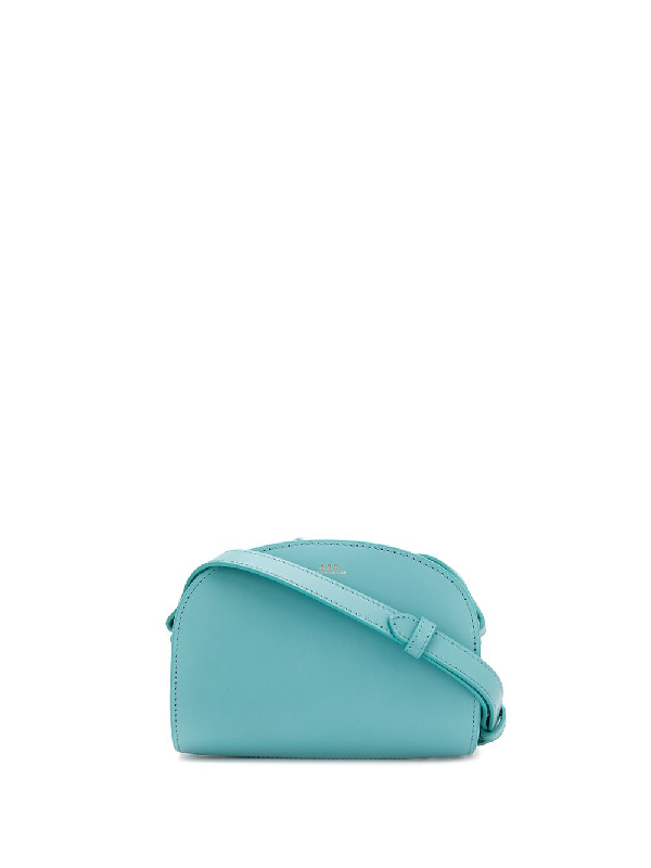 A.p.c. Sac Demi Cross-body Bag In Blue