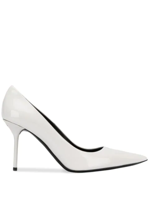 Tom Ford White Patent Leather Pumps