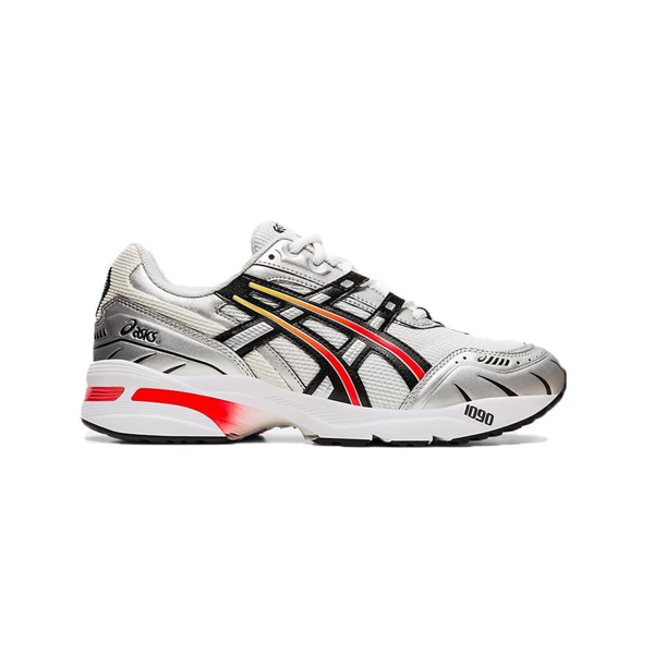 Asics Gel-1090 Mesh And Leather Trainers In White