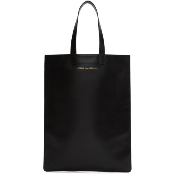 Comme Des Garçons Comme Des Garcons Wallets Black Leather Classic Line Tote In 1 Black