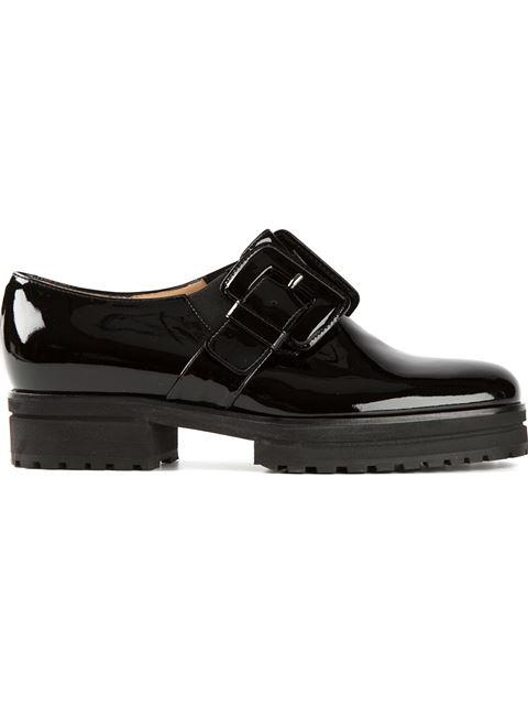Viktor & Rolf Buckled Loafers In Black