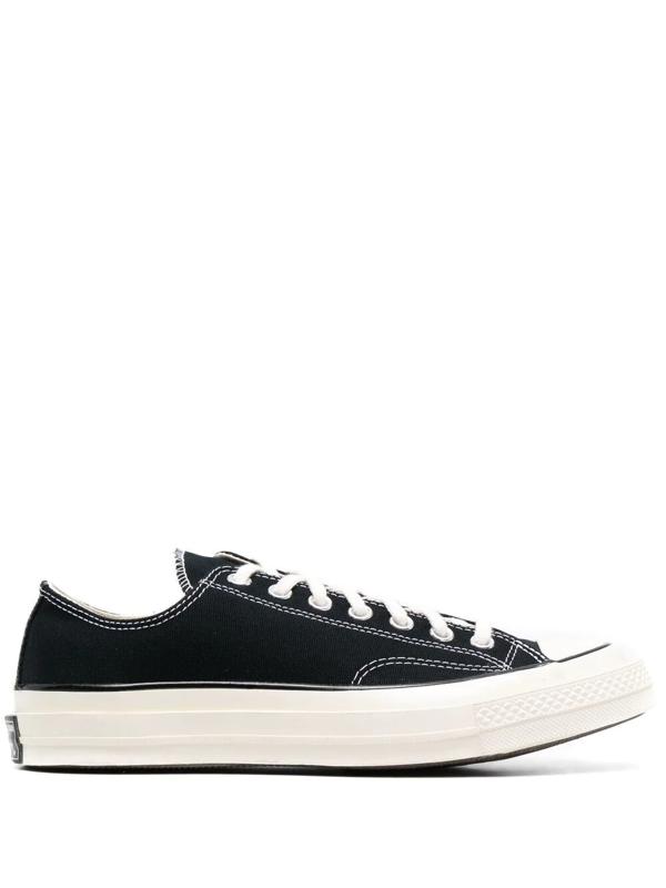 Converse Chuck 70 Double Foxing Ltd Low Sneakers In Wht/blk/des ...