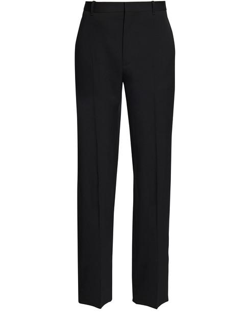 Balenciaga Wool Trousers In 1000