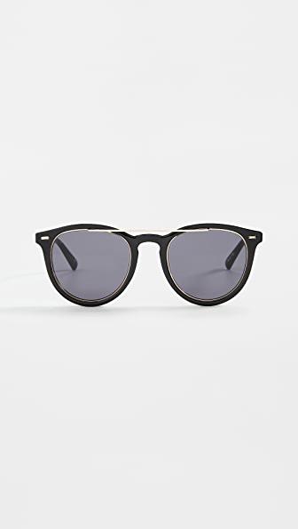 Le Specs Fire Starter Claw Sunglasses In Black Smoke