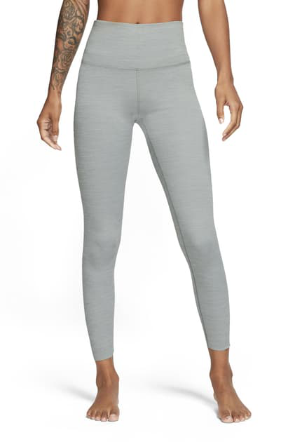Nike Yoga Luxe Women's Infinalon 7/8 Tights (particle Grey) In Particle Grey/ Platinum Tint