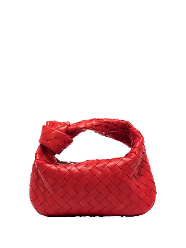 Bottega Veneta Bv Jodie Mini Intrecciato Leather Hobo Bag