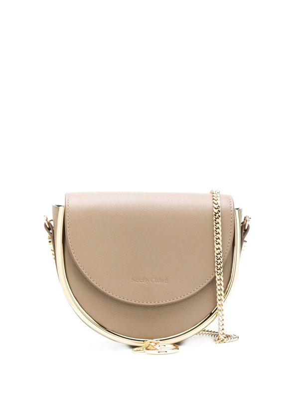See By Chloé Women's Mara Evening Leather Crossbody Bag In Brown