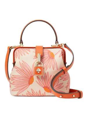 Kate Spade Women's Small Remedy Grand Daisy Top Handle Bag In Pink