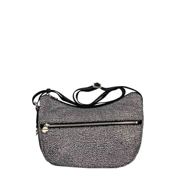 Borbonese Medium Luna Bag In Brown
