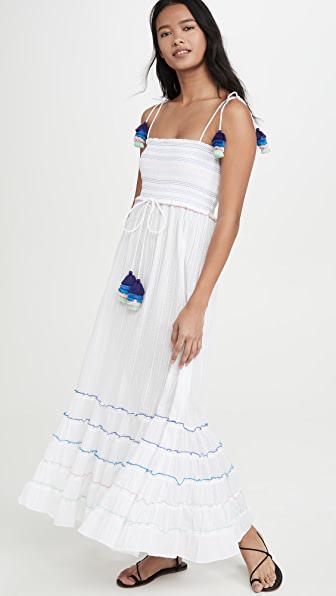 Playa Lucila Maxi Dress In White