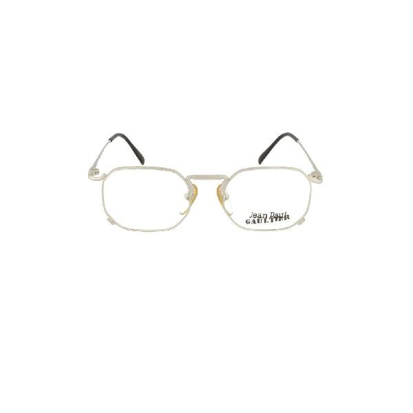 Jean Paul Gaultier Men's Silver Metal Glasses