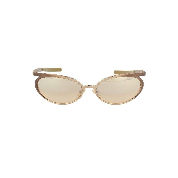 Romeo Gigli Women's Beige Metal Sunglasses
